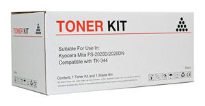Icon Compatible Kyocera TK344 Black Toner Cartridge