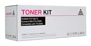 Icon Compatible Kyocera TK554 Black Toner Cartridge