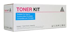 Icon Compatible Kyocera TK554 Cyan Toner Cartridge