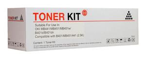 Icon Compatible OKI B401/MB451 Black Toner Cartridge (44992407)