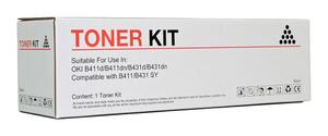 Icon Compatible OKI B411/B431 Black Toner Cartridge (44574703)