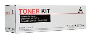 Icon Compatible OKI C5600/C5700 Black Toner Cartridge