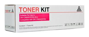 Icon Compatible OKI C5600/C5700 Magenta Toner Cartridge