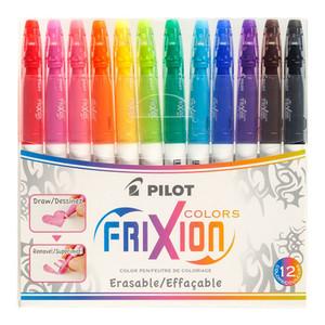 Pilot Frixion Colours Erasable Markers Asstd. 12Pk (SW-FC-S12)