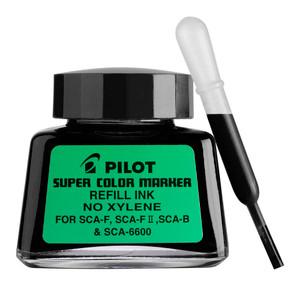 Pilot Super Colour Permanent Marker Black 30ml Refill (SCA-RF-B)