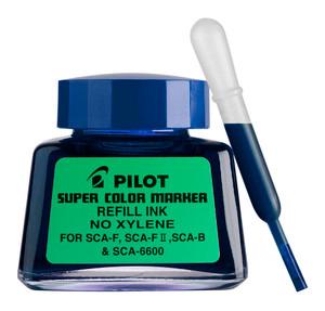 Pilot Super Colour Permanent Marker Refill Blue 30ml (SCA-RF-L)