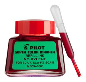 Pilot Super Colour Permanent Marker Refill Red 30ml (SCA-RF-R)