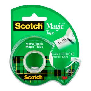 Scotch Magic Tape Dispenser 122 19mm x 16.5m