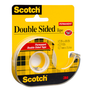 Scotch Double Sided Tape Dispenser 137 12mm x 11.4m