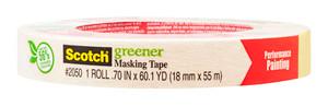 Scotch Greener Masking Tape 2050-18A   18mmx55m