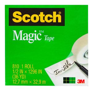 Scotch Magic Tape 810 12.7mmx33m