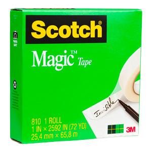 Scotch Magic Tape 810 25.4mmx66m