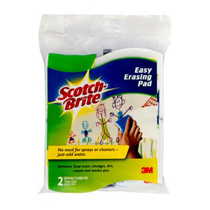 Scotch-Brite Easy Erasing Pad 832-2 Pkt/2