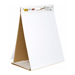Post-it Tabletop Easel Pad with Dry Erase 563DE 508x584mm
