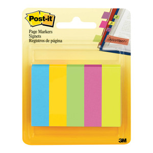 Post-it Page Markers 670-5AU Jaipur 13x50mm Pk5