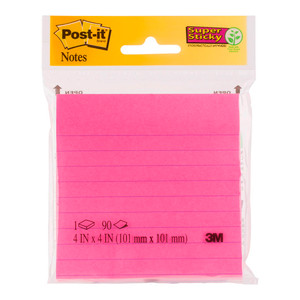Post-it Jaipur/Capetown Lined Notes  4490-SSMX 101mmx101mm
