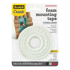 Scotch 4013-CFT Craft Mounting Tape 12.7mm x 3.81m