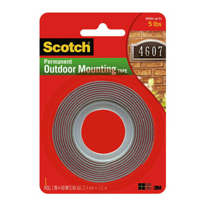 Scotch Outdoor Mounting Tape 411P 22mmx1.5m