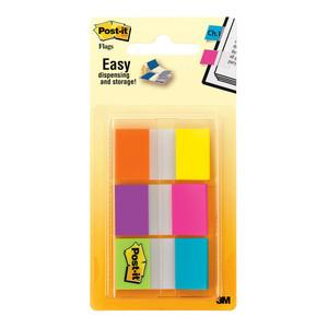 Post-it Flags 680-EG-ALT Alternating Colours 25mm  Pkt/60