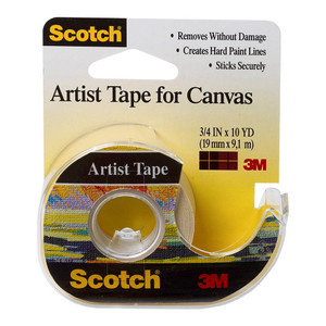 Scotch Artist Tape FA2010 19mm x 9.1m on dispenser