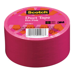 Scotch Expressions Duct Tape 920-PNK-C 48mm x 18.2m Pink