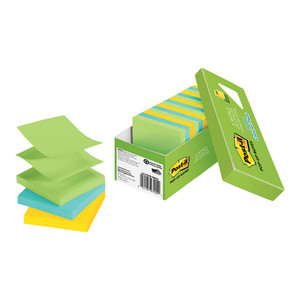 Post-it Pop Up Note Refill R330-18AUCP Jaipur Cabinet Pack 76mm x 76mm 100 sheet pads Pkt/18