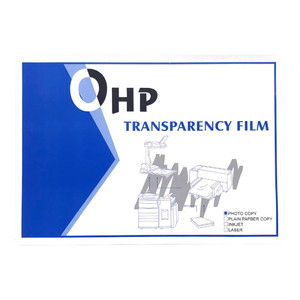 OHP Transparency Film A4 100mic Pack 100