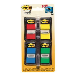 Post-it Flags 680-RYBGVA 25x43mm 50/Dispenser, 4 Dispenser/Pk Value Pack