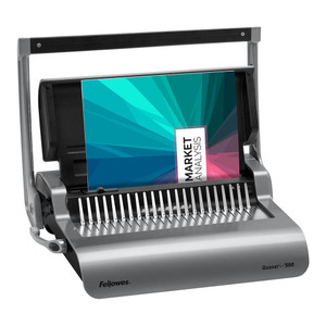 Fellowes Quasar+ 500 Plastic Comb Binding Machine
