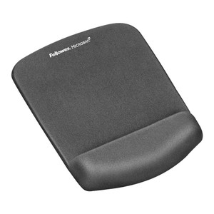 Fellowes PlushTouch Wrist Rest Mouse Pad Graphite