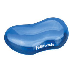 Fellowes Gel Crystals Flex Rest Blue
