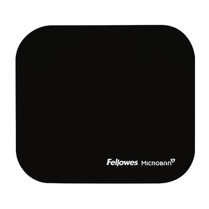 Fellowes Mouse Pad with Microban Black