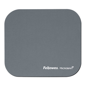 Fellowes Mouse Pad with Microban Silver