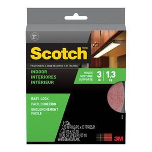 Scotch Fastener RF4760 Indoor 19mm x 4.57m White