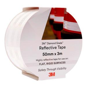 3M Diamond Grade Reflective Tape 983-10 White 50mm x 3m