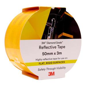 3M Diamond Grade Reflective Tape 983-71 Yellow 50mm x 3m