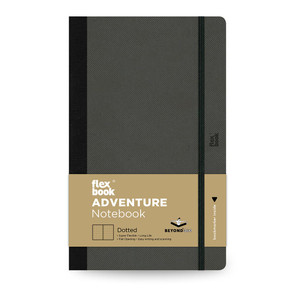 Flexbook Adventure Notebook Medium Dotted Off-Black