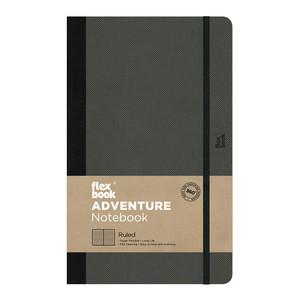 Flexbook Adventure Notebook Medium Ruled Off-Black
