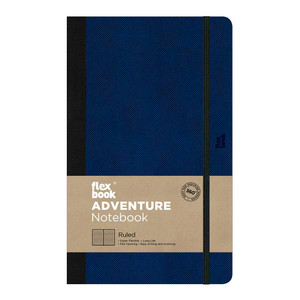 Flexbook Adventure Notebook Medium Ruled Royal Blue