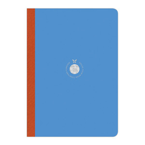 Flexbook Smartbook Notebook Large Ruled Blue/Orange