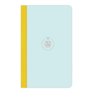 Flexbook Smartbook Notebook Medium Ruled Mint/Yellow