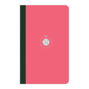 Flexbook Smartbook Notebook Medium Ruled Pink/Green