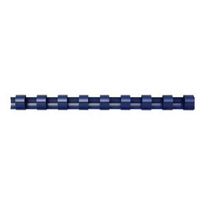 Fellowes Plastic Binding Coils 6mm Blue Pack of 100