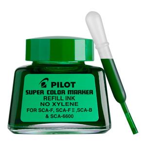 Pilot Super Colour Permanent Marker Green 30ml Refill (SCA-RF-G)