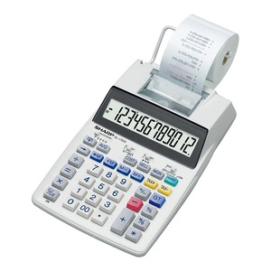Sharp EL-1750V Printing Calculator