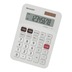 Sharp EL-330FB Twin Power Desktop Tax Calculator
