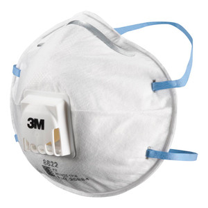 3M Respirator Valved Particulate 8822 P2 Pack of 10