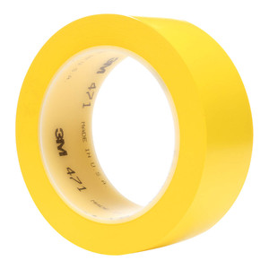 3M Vinyl Tape 471 25mm x 33m Yellow