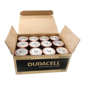 Duracell Coppertop Alkaline D Battery Pack of 12