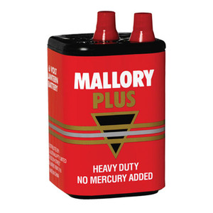 Duracell Mallory Heavy Duty M908 6V Battery
